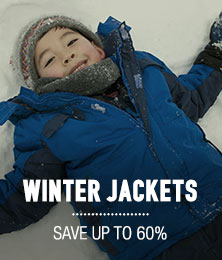 Winter Jackets - save up to 60%