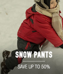 Snow Pants - save up to 50%
