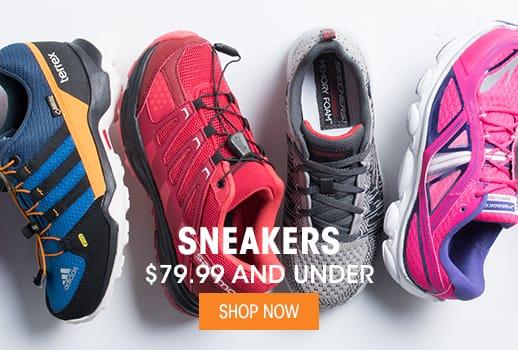 Sneakers - $79.99 & Under