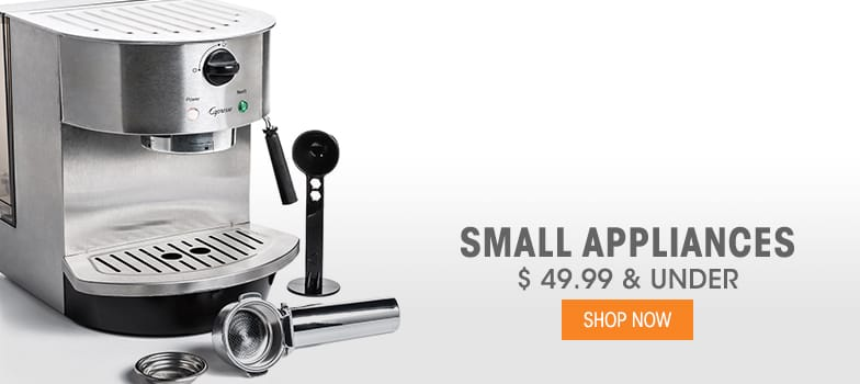 Small Appliances - $49.99 & Under