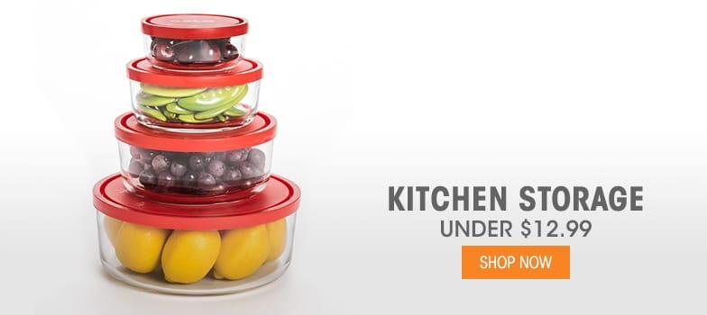 Kitchen Storage - Under $12.99