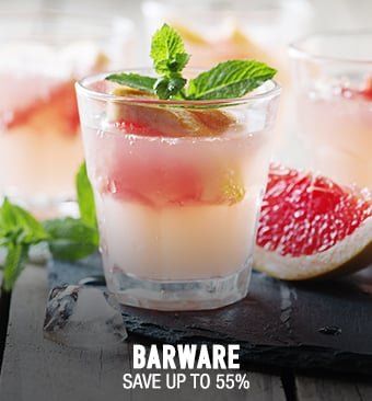 Barware - save up to 55%