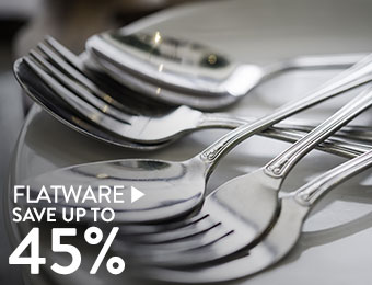 Flatware - save up to 45%