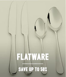 Flatware - save up to 50%