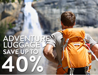 Adventure Luggage - save up to 40%