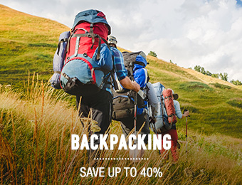 Backpacks - save up to 40%