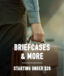 Briefcases, Portfolios ∓ Carry-ons - starting under $20