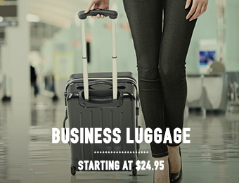 Business Luggage - starting at $24.95