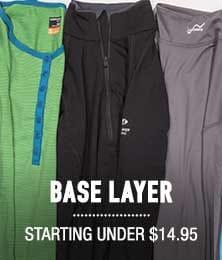 Base Layer - starting at $14.95