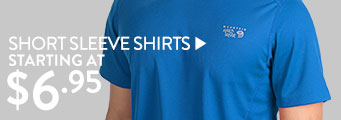 Short Sleeve Shirts - starting at $6.95