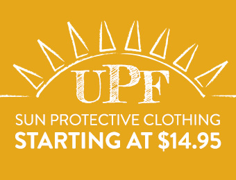UPF Clothing - starting at $14.95