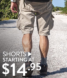 Shorts - starting at $14.95