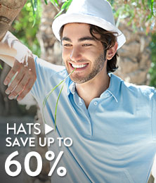 Hats - save up to 60%