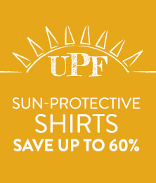 UPF Shirts - save up to 60%