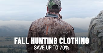 Fall Hunting Clothing - save up to 70%
