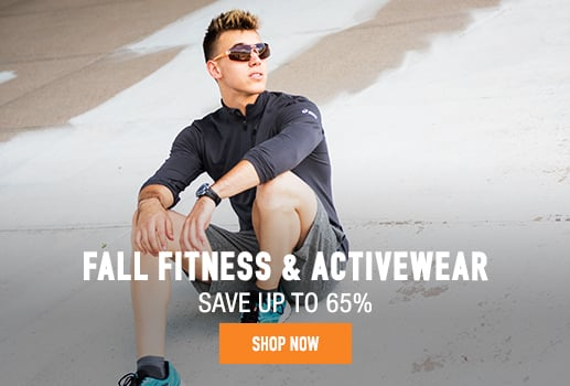 Fall Fitness & Activewear - save up to 65%