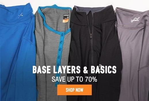 Base Layers & Basics - save up to 70%