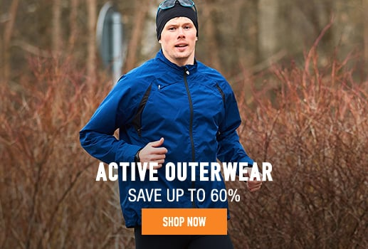 Active Outerwear - save up to 60%