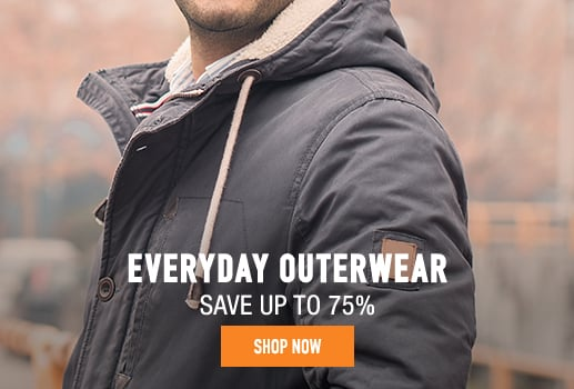 Everyday Outerwear - save up to 75%