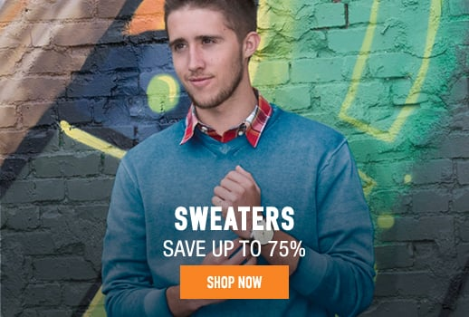 Sweaters - save up to 75%
