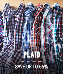 Glad in Plaid - save up to 65%