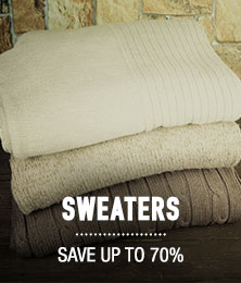 Sweaters - save up to 70%