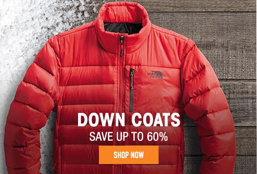 Down Coats - save up to 60%