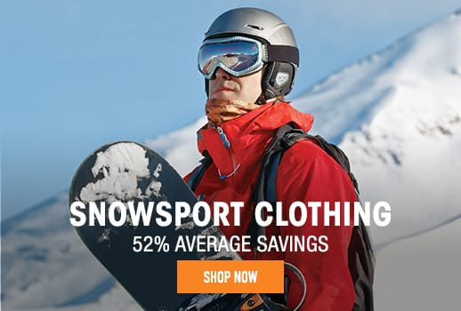 Snowsport Clothing - 52% average savings