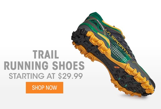 Trail Running Shoes - Starting at $29.99
