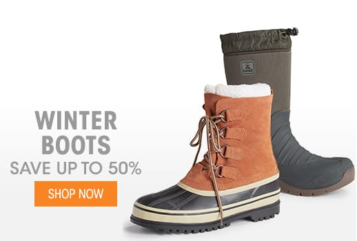 Winter Boots - Save up to 50%