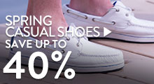Spring Casual Shoes - save up to 40%