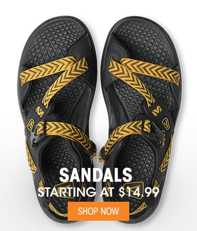 Sandals - Starting at $14.99