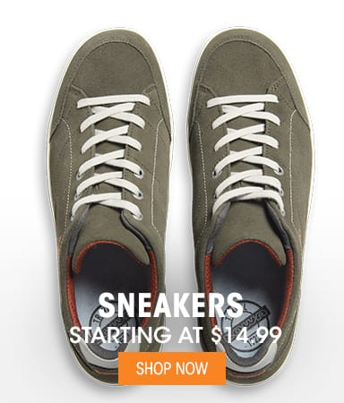 Sneakers - Starting at $14.99