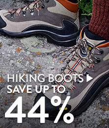 Hiking Boots - save up to 44%