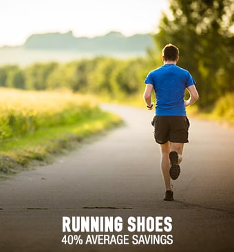 Running Shoes - 40% average savings