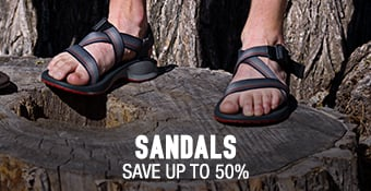 Sandals - save up to 50%