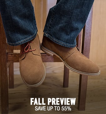 Fall Preview - save up to 55%