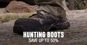 Hunting Boots - save up to 50%