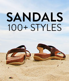 Sandals 100+ styles