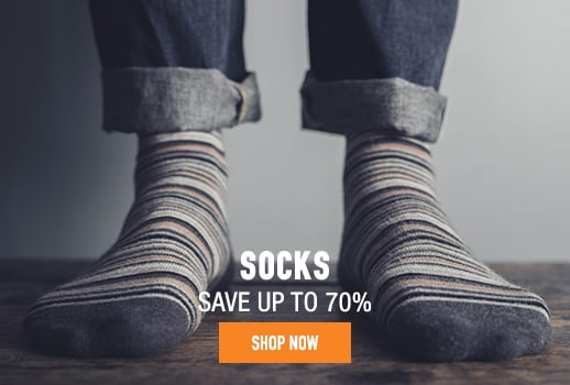 Socks - save up to 70%