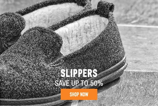 Slippers - save up to 50%
