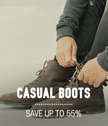 Casual Boots - save up to 55%
