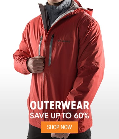 Men's Outerwear - Save up to 60%