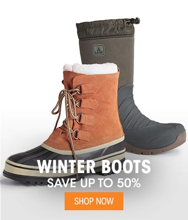 Men's Winter Boots - Save up to 50%