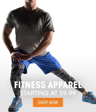 Men's Fitness Apparel - Starting @ $9.99