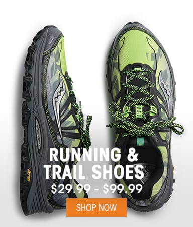 Men's Running & Trail Shoes - $29.99 - $99.99