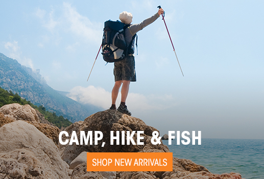 Camp, Hike & Fish - Shop New Arrivals