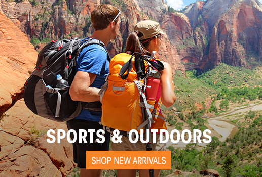 Sports & Outdoors- Shop New Arrivals