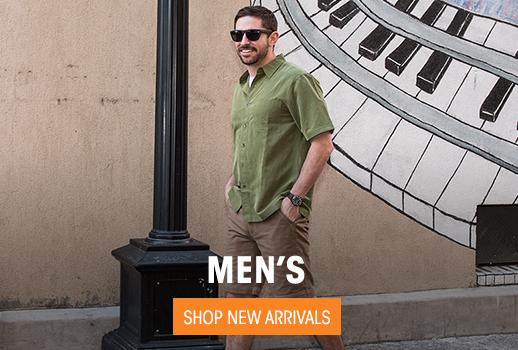 Men's - Shop New Arrivals