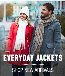 Everyday Jackets - shop new arrivlas